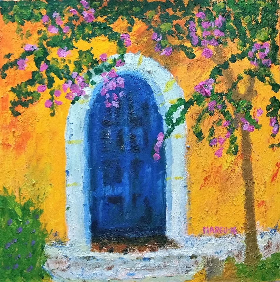 """La puerta azul"""