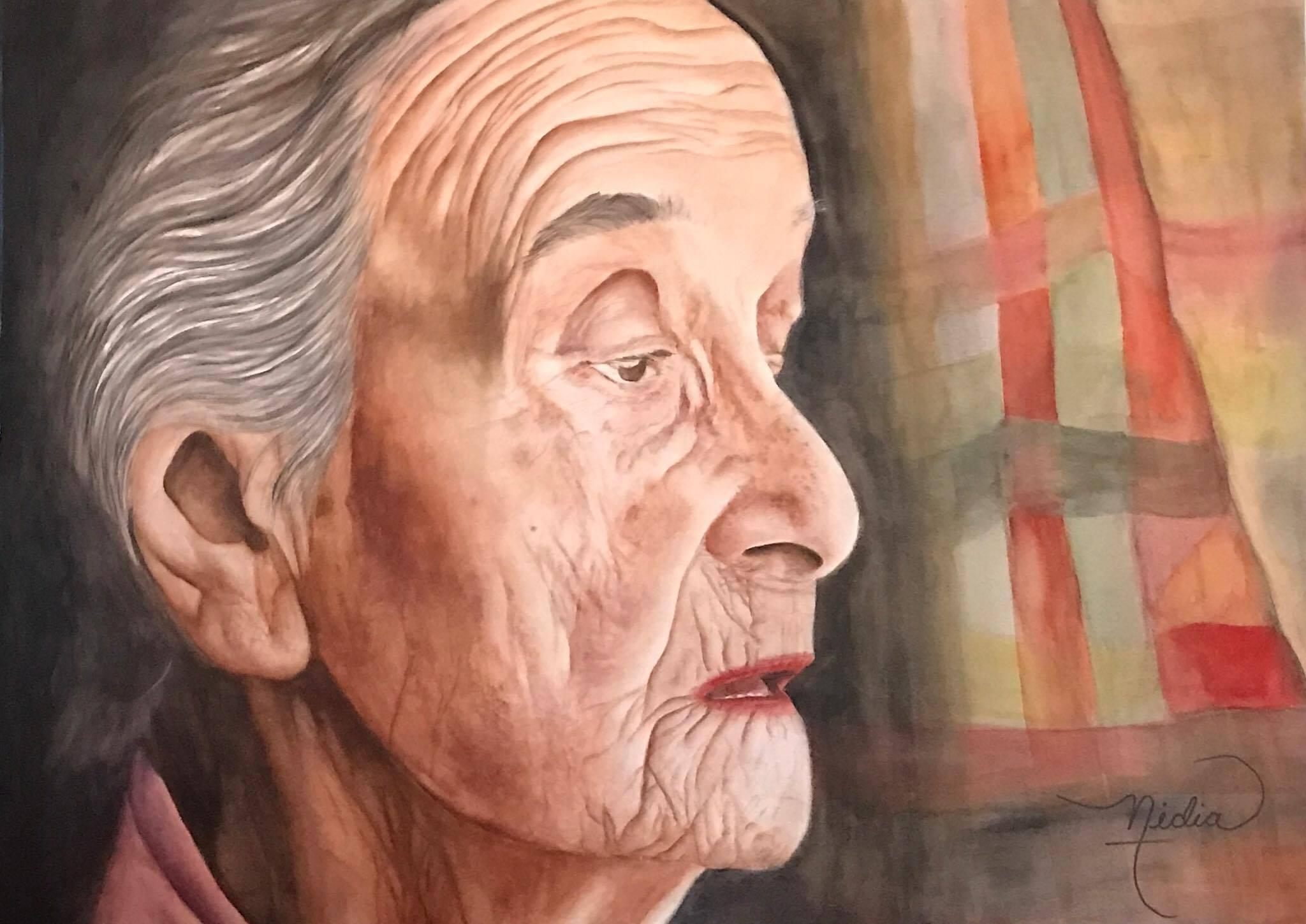 """""""...........  fui invitada a ser la artista del mes de agosto en el Museo de la Acuarela del Estado de México."""""""