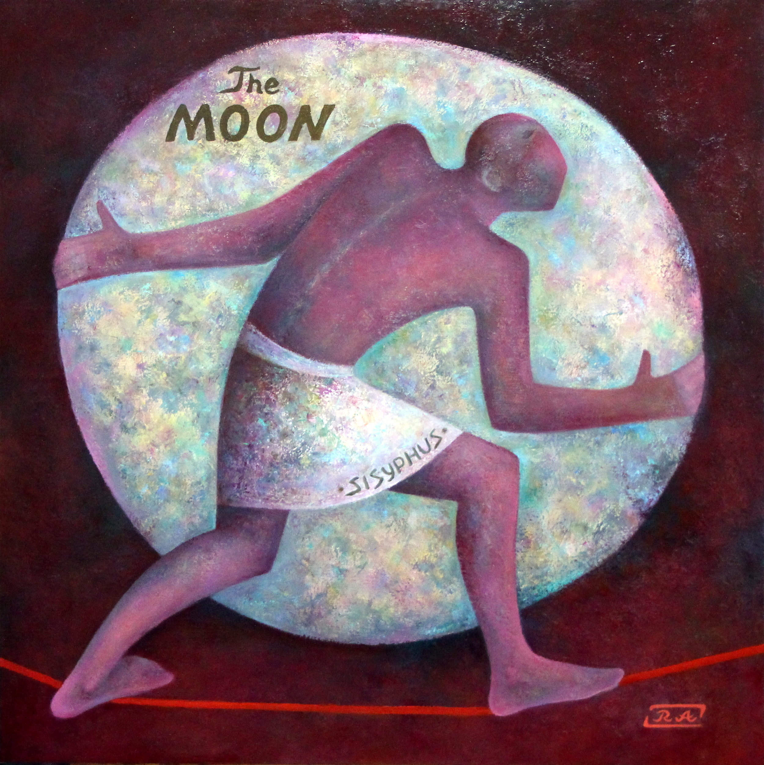"""SISYPHUS AND THE MOON"""