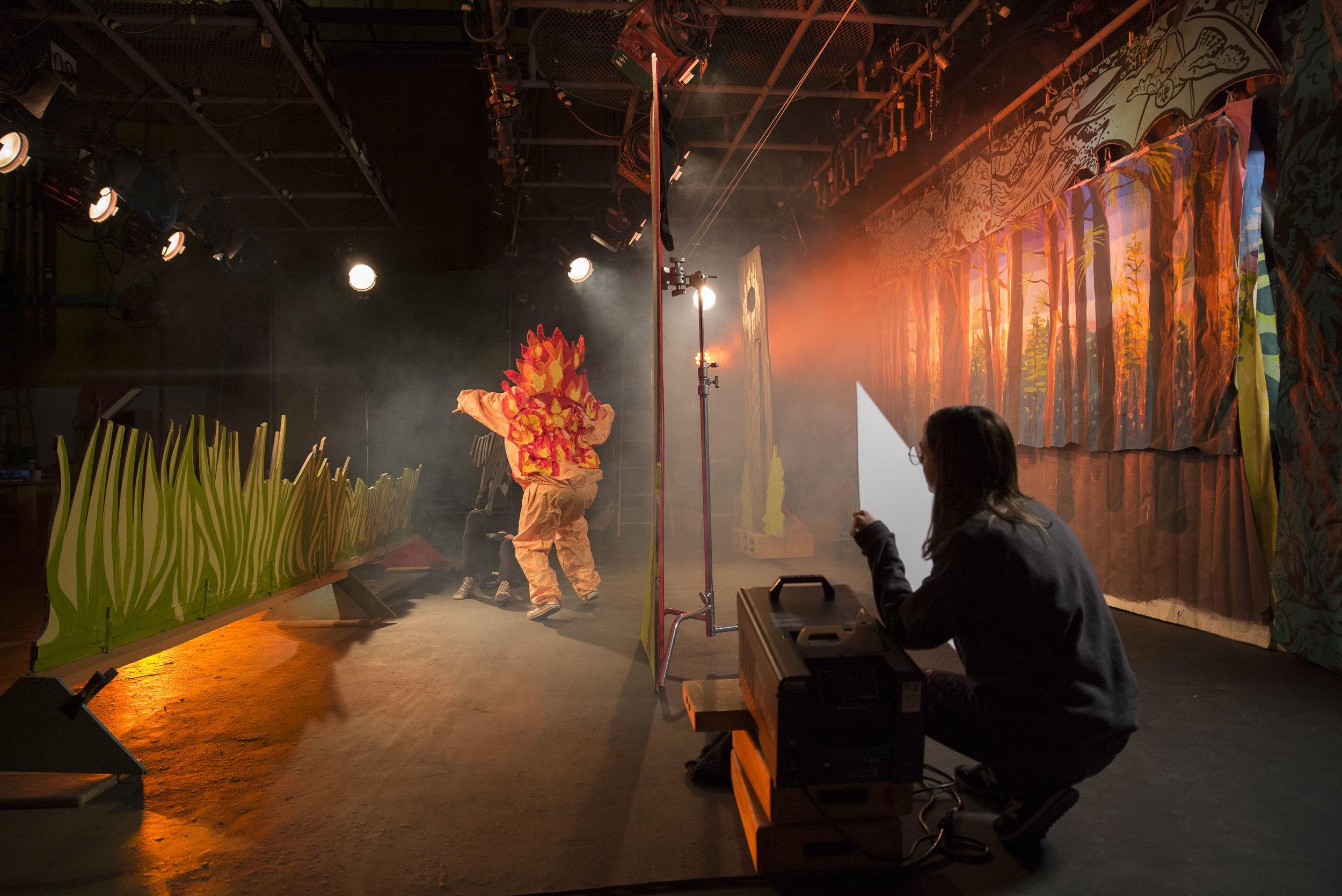 Bastrop Fire Scene