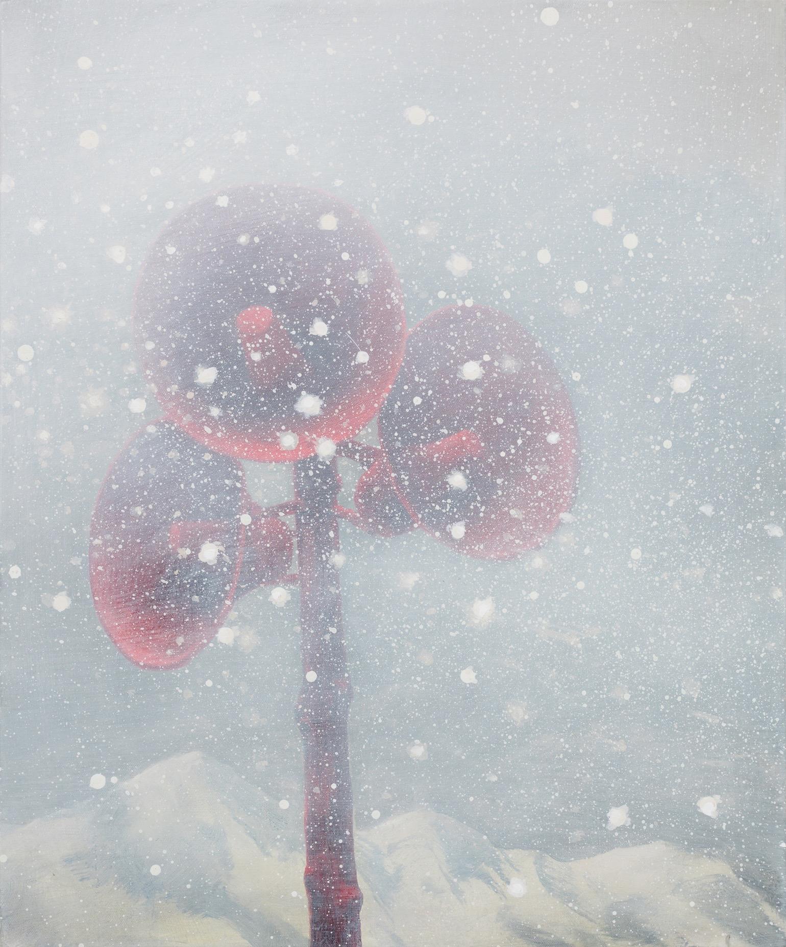 """Siren: The Avalanche, 24""""x20"""", acrylic on canvas"""