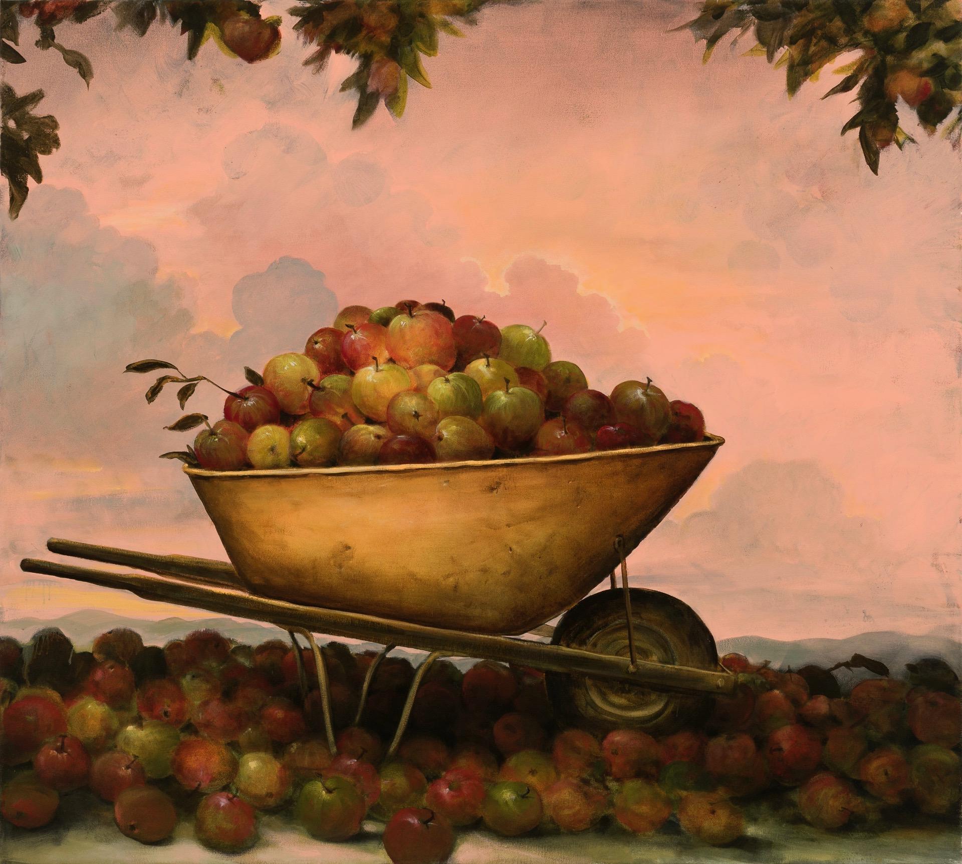 """Apples I""""ve Eaten, 54""""x60"""""""