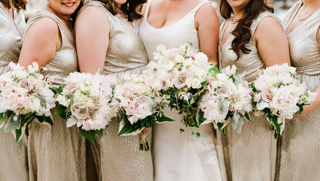 Providence spring wedding bouquets