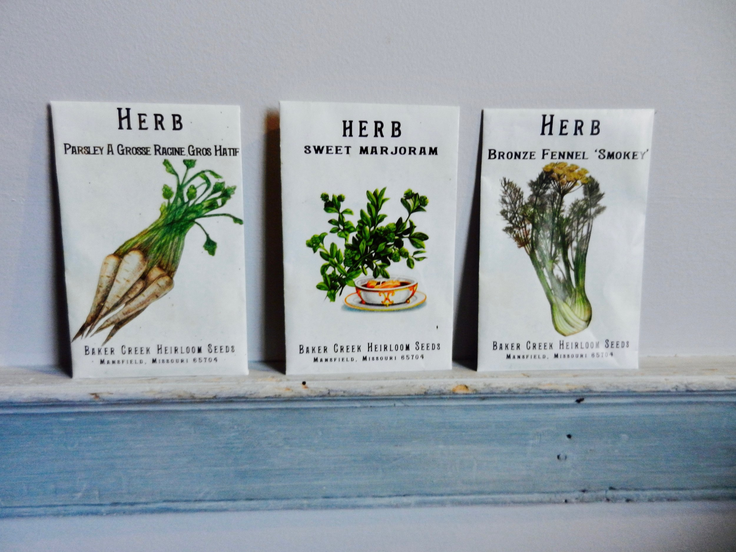 Herbs for the Kitchen Garden -