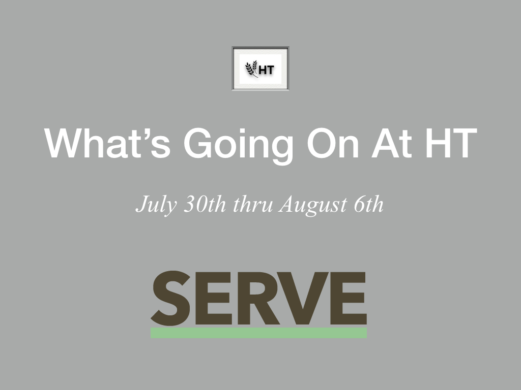 In our foyer, during the weeks of July 30th and August 6th, we will be hosting a ministry fair: 'What's Going on at Harvestime'?  Many of our ministries will be displaying what their ministries are about. This has a two-fold purpose: 1) to tell the story of Harvestime and it;'s many ministries, 2) to instill a hunger for involvement in YOU. You have a place here and God has a plan for you. Be planted, go deep and plug in...the result is YOU will grow.