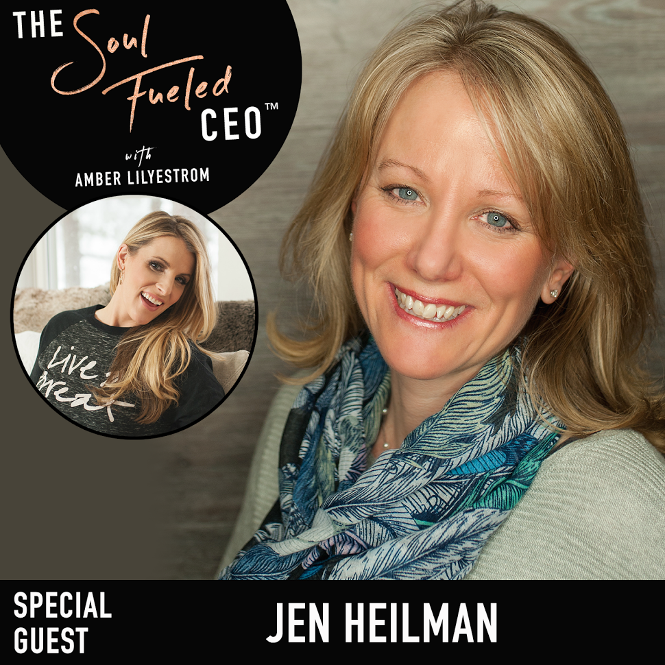 Soul-Fueled CEO Podcast w/ Amber Lilyestrom!  Jen is a total Feng Shui Ninja. She helped us sell our house in 9 days and attract in our dream home.