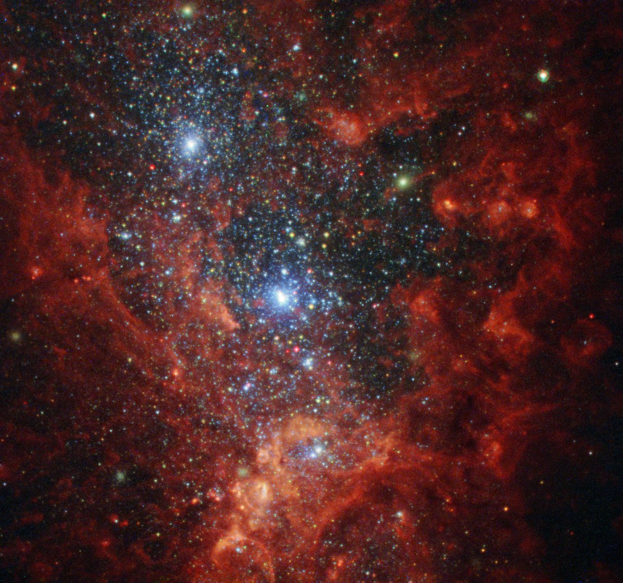 Hotbed of Vigorous Star Formation (http://www.nasa.gov/image-feature/goddard/2016/hubble-hotbed-of-vigorous-star-formation)