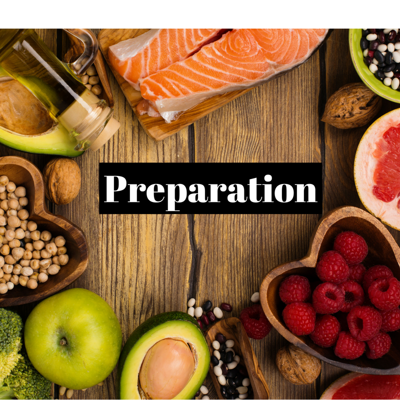Preparation is key to weight-loss success. It is love.