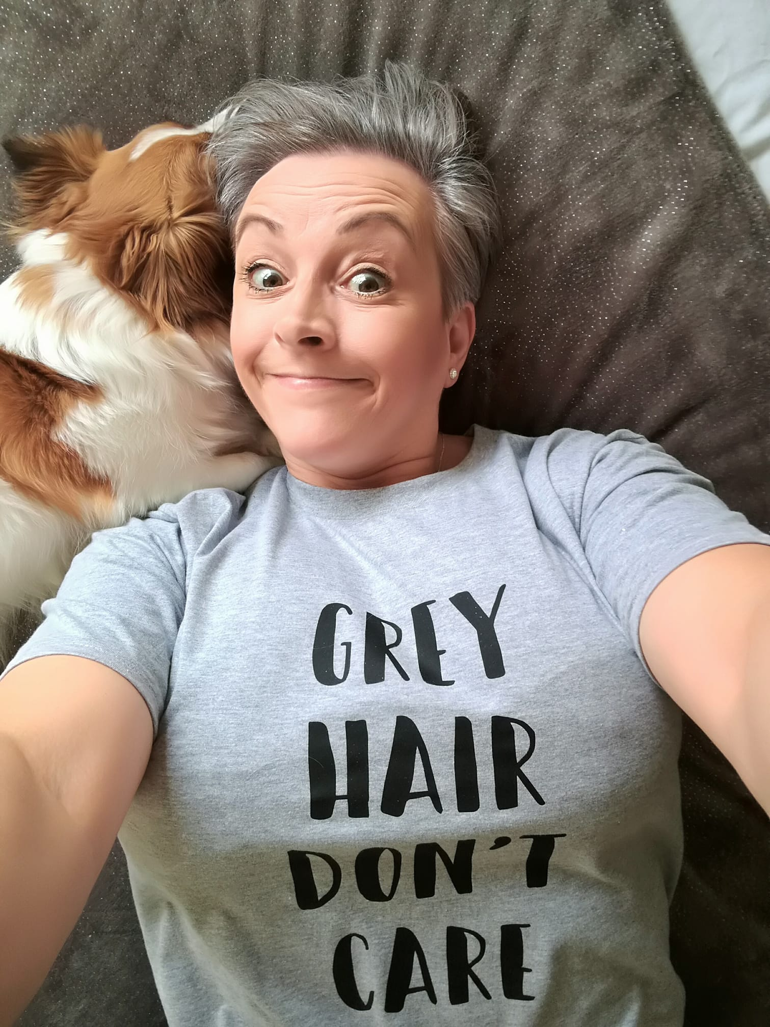 Debra Barnacle  From Going Grey Guide Facebook Page.