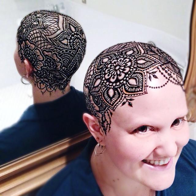 beth henna crown mirror