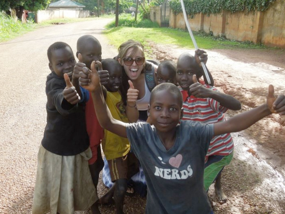 "Everyone gives their ""thumbs up"" vote for sending fewer idiot ""volunteers"" like 19 year old me to Uganda."