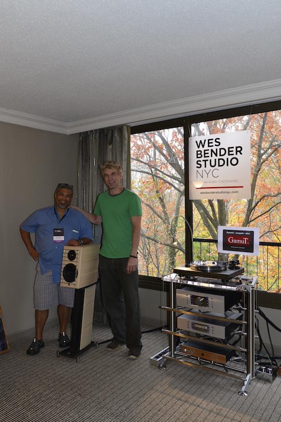 Wes Bender and Michael Vamos of GamuT