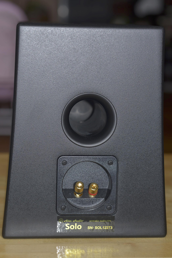 Alta Audio Solo Loudspeaker rear