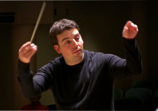 James Gaffigan, conductor. Photo credit: Peter Weinberger
