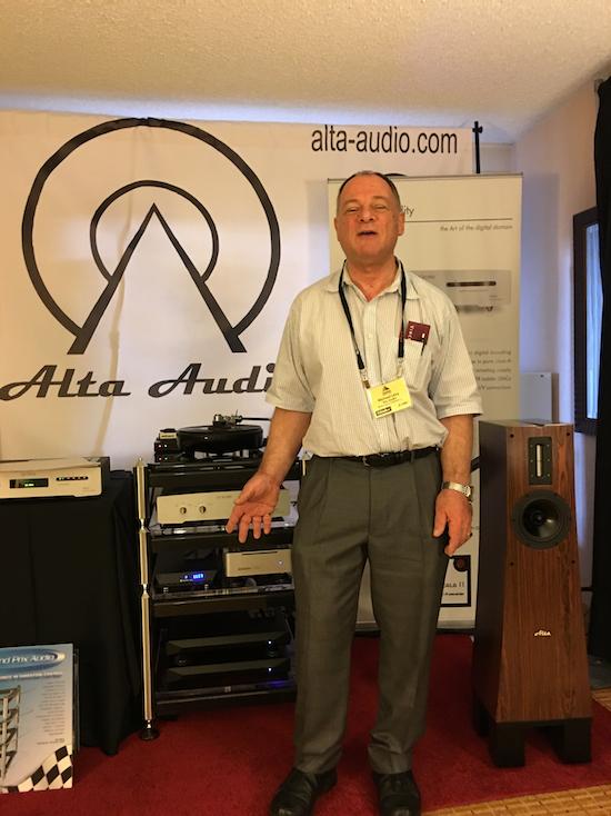 Michael Levy of Alta Audio