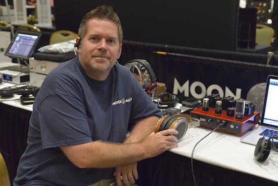 Moon Audio President Drew Baird