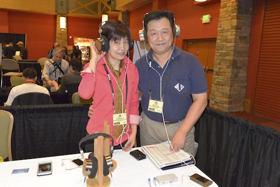 Ms. Christina Pan and Mr. David Teng