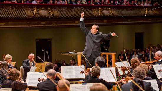 Andris Nelsons conducts the Boston Symphony Orchestra.Photo: www.npr.org