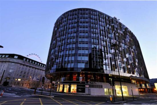 Park Plaza Westminster Bridge Hotel London.