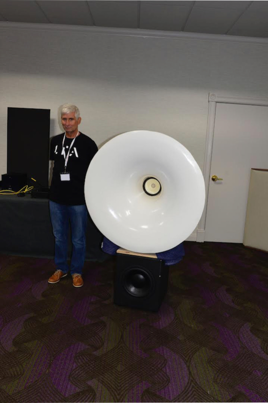 Mark Schneider (of Linear Audio) was on hand to demonstrate.