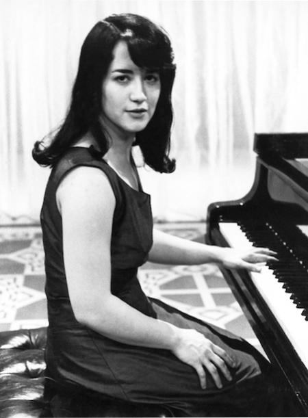 A young Martha Argerich.