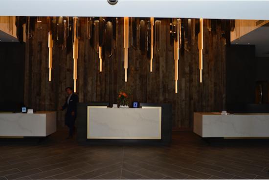 New lobby.