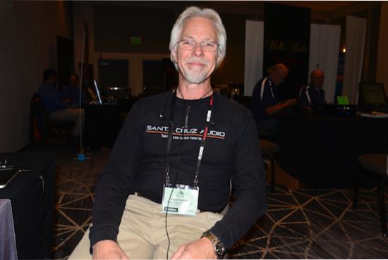 Frederick DeKalb of Santa Cruz Audio.