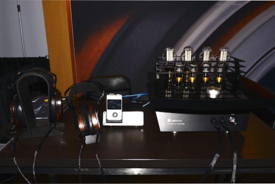 HiFiMan setup.