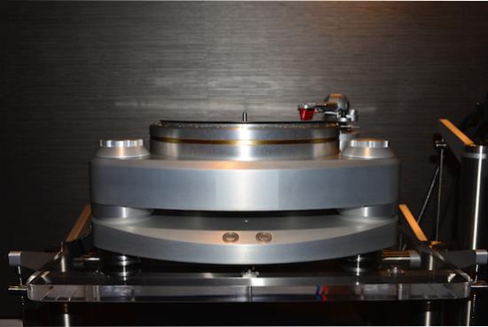 """Acoustic Signature Ascona MK2 ($33,999) with 12"""" TA 9000 tonearm, and MC3 Cartridge ($1700)."""