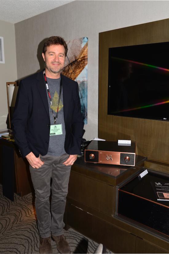 John Dormandy of Voss Audio.