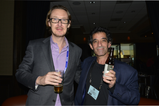 Enno Vandermeer, President/CEO of Roon Labs and yours truly.