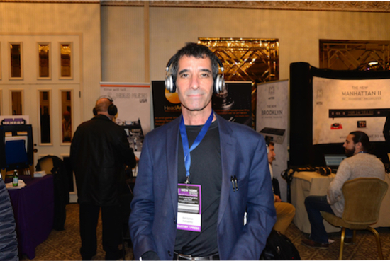 I listened to the new small and light Master & Dynamic MW50 wireless headphones; amazing ($449.00).
