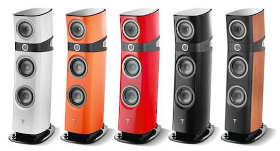 Legendary Focal fit and finish. Electric Orange pour moi!