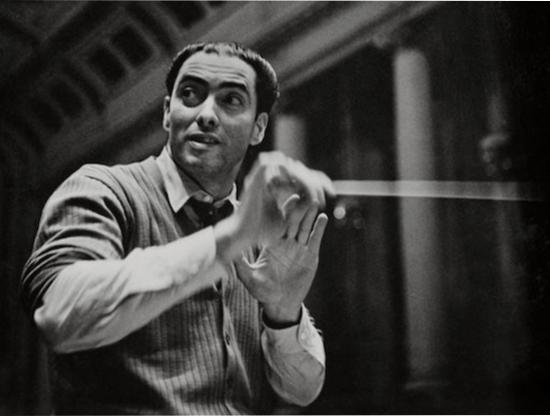 Spanish conductor, Ataúlfo Argenta.