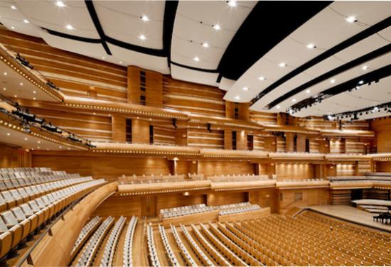 Home of this new Decca recording, the Maison Symphonique de Montréal.