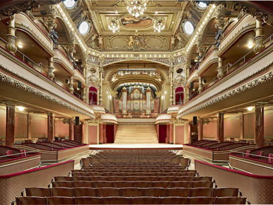 Victoria Hall, Geneva. Home to Orchestre de la Suisse Romande.