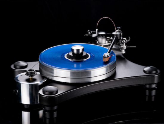 The VPI Prime in black.