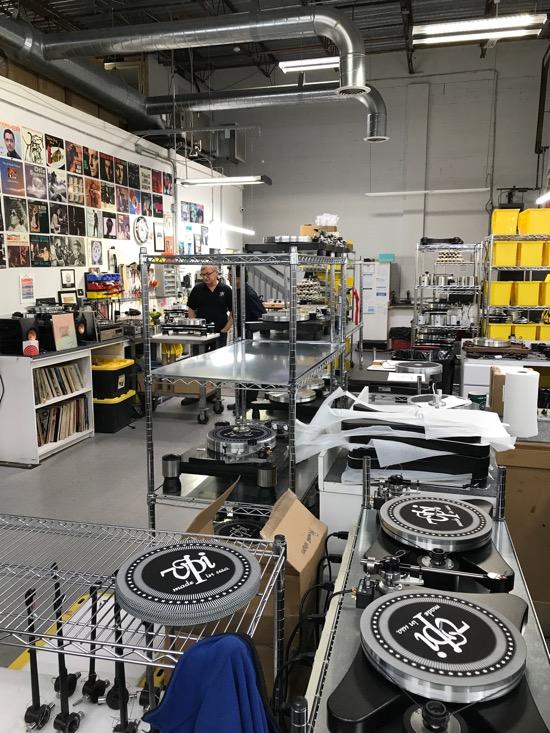 VPI Industries factory floor.