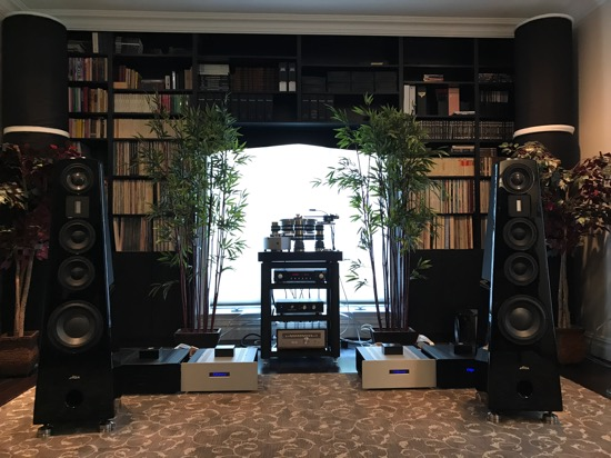 VPI House listening room. One of the best rooms I've heard, both equipment choices and room synergy.