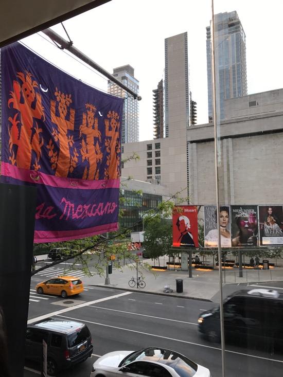 Rosa Mexicano, Lincoln Center. Location for the Audiophilia Dinner.