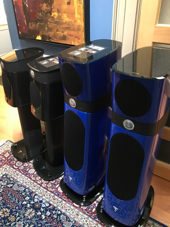 More Focal Loudspeakers, this time from the Sopra Series.