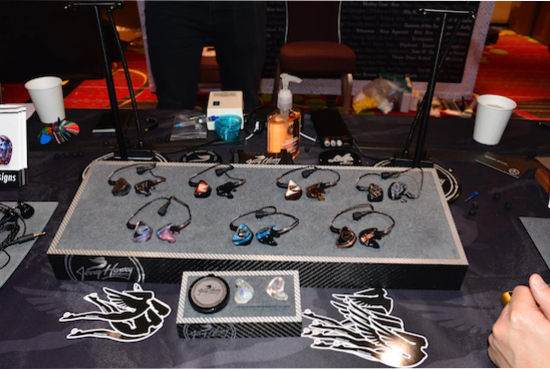 Jerry Harvey Audio. In ear monitors. Prices range from below $1000 up to almost $3000.