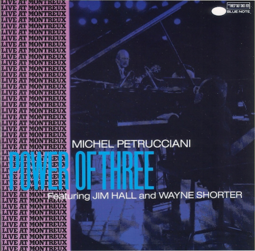 One of my favourite jazz albums. Quite superb sound from a live set at Montreux. The late, great Michel Petrucciani's stunning musicianship is matched by Wayne Shorter and Jim Hall. The opening track  Limbo  is remarkable in every musical and audiophile way.