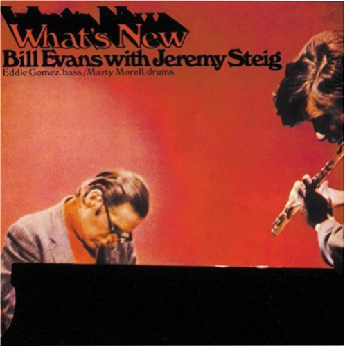 Another personal favourite with essential Bill Evans and Jeremy Steig's way out fluting. When you hear  whistle tones as clear as this, you know the Verve guys got the recording right. This one is hard to find.