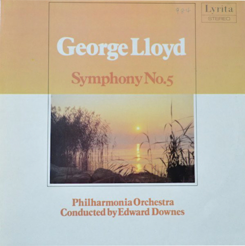 A fine English symphony played brilliantly by the Philharmonia and recorded with exceptional clarity and dynamism by Lyrita engineers. Ted Downes is a hugely underrated conductor.