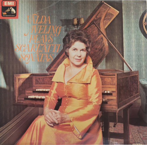 Another superb LP by an old mate. Valda didn't record a lot, but when she did, pow! This EMI recording captures the genius of Scarlatti and Valda's brilliant musicianship.