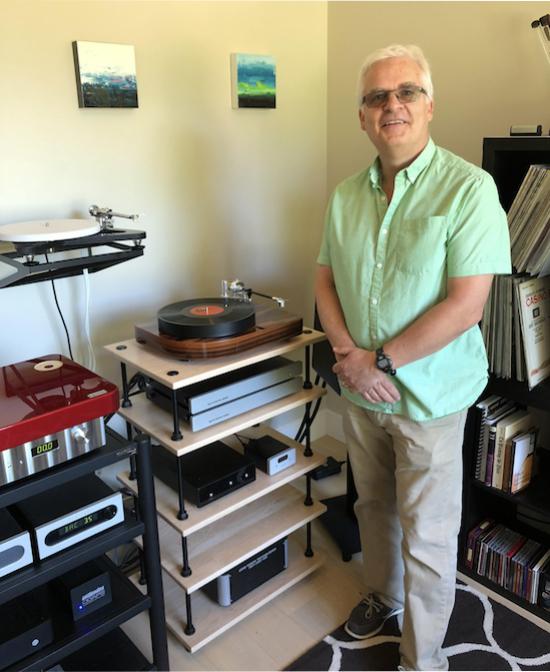 John Stratton, owner/designer of Pure Fidelity.