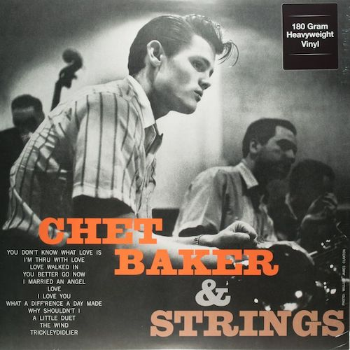 Many of Audiophilia's readers will know this album. But just in case you don't, it's included on the list as a must have. Effortless phrasing and style by the great artist. A double threat on trumpet and voice, this is one of Baker's best—and beautifully recorded. My copy is a quality reissue.