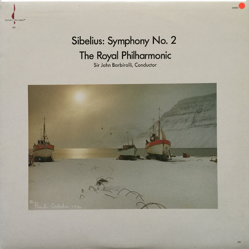 A very special record and difficult to find. Chesky's remastering is outstanding from the original, spectacular Wilky/Gerhardt engineering/production team. A Walthamstow classic. This is my favourite Sibelius 2, by far. No one does it like Barbirolli. The first movement sounds like no other. Sibelius would have been proud.