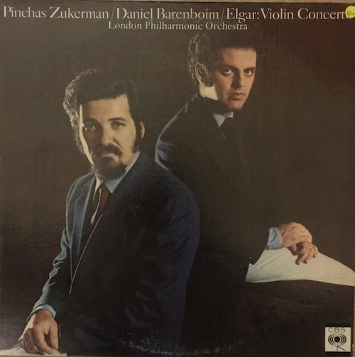 The Brits LOVE when non Brits do Elgar. Barenboim's been doing it for years, ever since his late wife recorded the best Elgar Cello Concerto ever. Barenboim's been getting better and better with his Elgar, but this old CBS is very special. Not so much for sound, which is serviceable, but for Zukerman's astonishing performance of Elgar's great Violin Concerto. The good news, it's in a lot of classical bins. Good hunting.